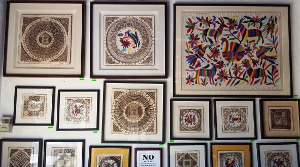Raphael_Frame_Shop_ Bucerias_Mexican_Artwork