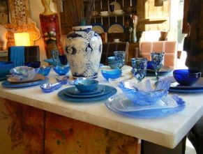 Jan Marie Boutique dish collection in Bucerias
