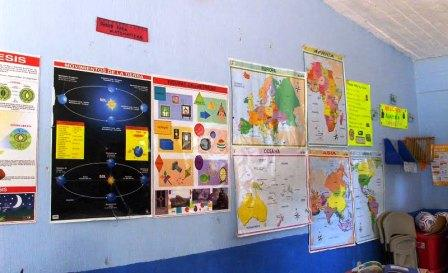 Good schools need maps books supplies