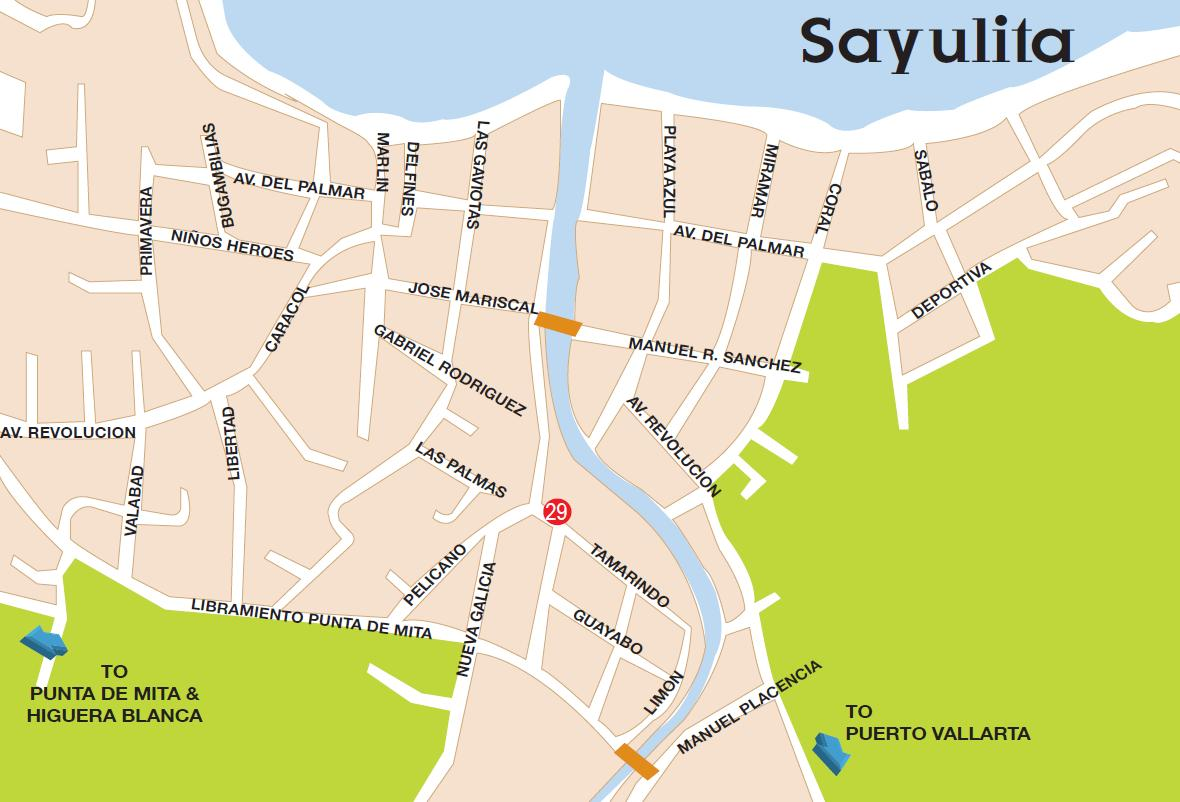 Sayulita Mexico Map Google.Best Of Bucerias Maps