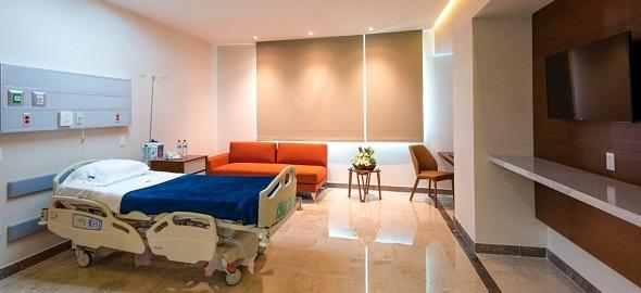 Spine_Clinic_CMQ_Bucerias_Modern_Hospital_Room