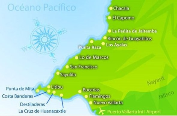 Riviera_Nayarit_Map