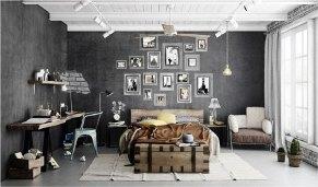Crate_Interiors_Industrial_Bedroom